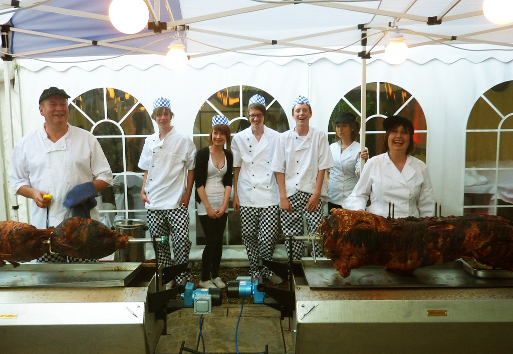 The Hogroast chef team